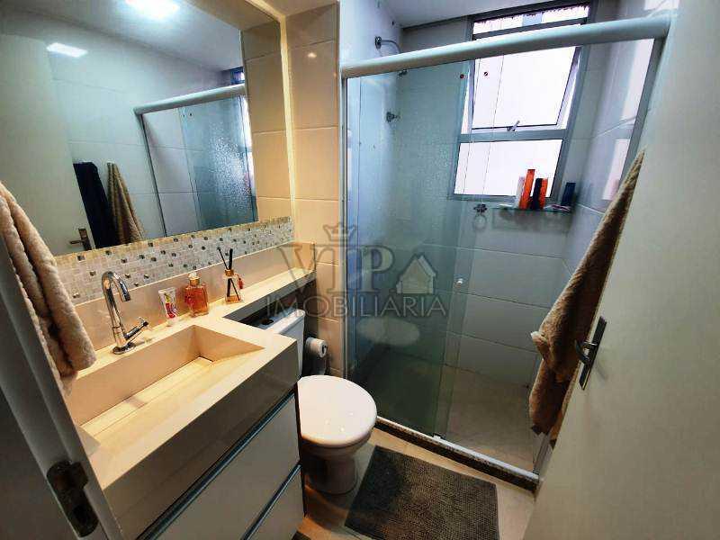 08. - Apartamento à venda Rua Itaque,Santíssimo, Rio de Janeiro - R$ 160.000 - CGAP20889 - 9