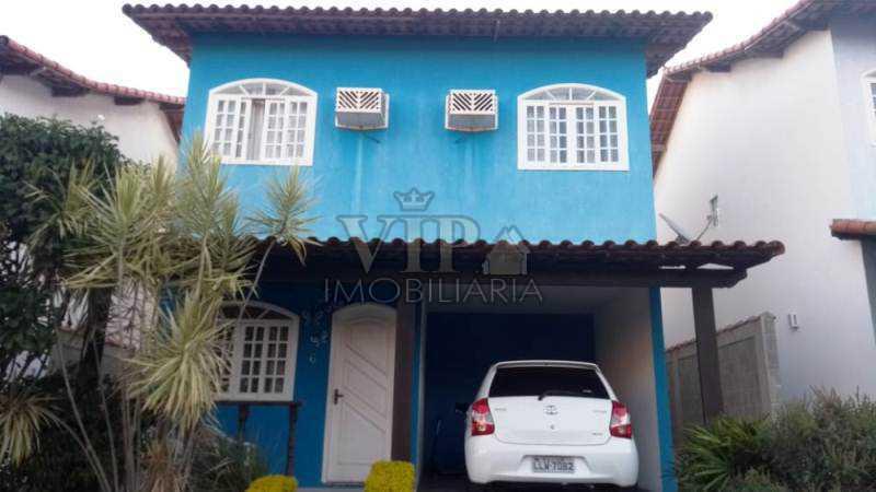 01 - Casa em Condomínio à venda Rua Aporuna,Santa Cruz, Rio de Janeiro - R$ 380.000 - CGCN40022 - 1
