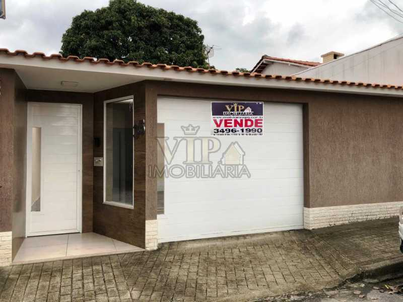 1 - Casa em Condomínio à venda Rua Rua Rafael Rabelo,Cosmos, Zona Oeste,Rio de Janeiro - R$ 300.000 - CGCN20200 - 1