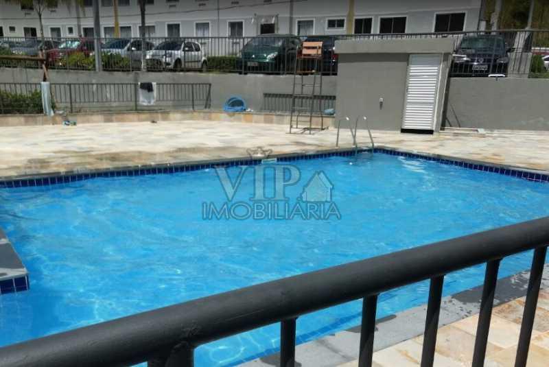 PISCINA - Apartamento para venda e aluguel Rua Josué de Barros,Campo Grande, Rio de Janeiro - R$ 160.000 - CGAP20962 - 1