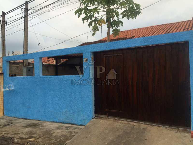 1 - Casa em Condomínio à venda Rua Henriqueta Brieba,Cosmos, Rio de Janeiro - R$ 270.000 - CGCN20222 - 1