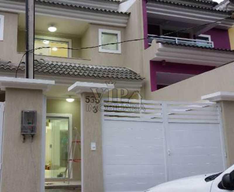1 - Casa em Condomínio à venda Rua Abel Ferreira,Campo Grande, Rio de Janeiro - R$ 590.000 - CGCN20228 - 1