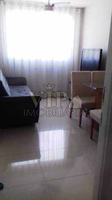 01 8 - Apartamento à venda Rua General Moreira Lima,Guaratiba, Rio de Janeiro - R$ 150.000 - CGAP20993 - 3