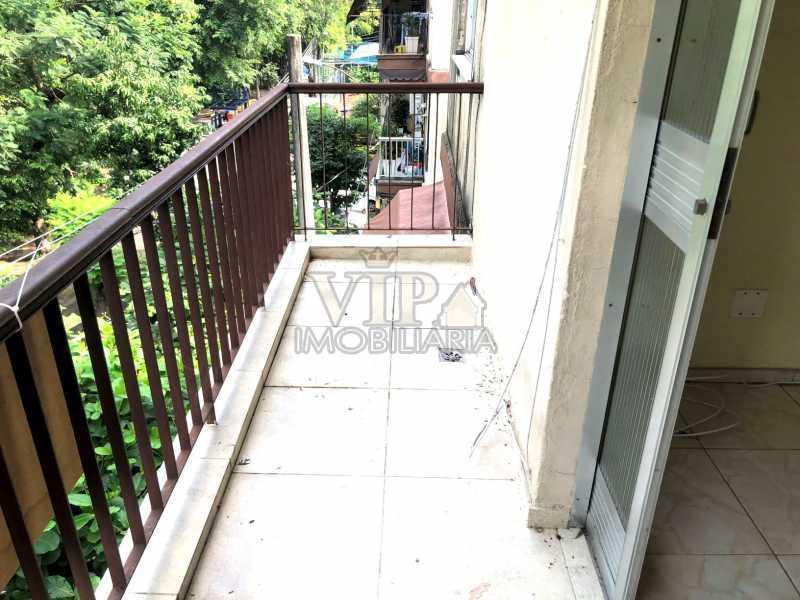 1 - Apartamento para alugar Estrada Iaraqua,Campo Grande, Rio de Janeiro - R$ 660 - CGAP21004 - 1