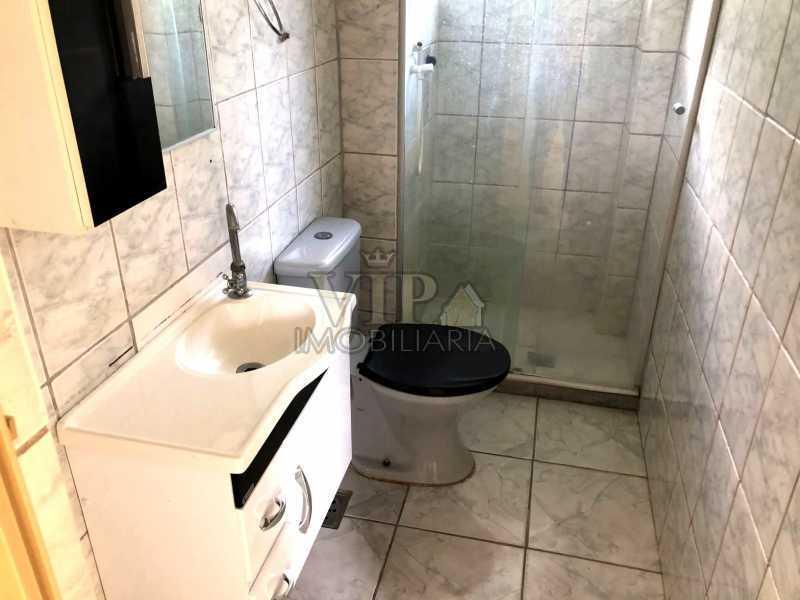 9 - Apartamento para alugar Estrada Iaraqua,Campo Grande, Rio de Janeiro - R$ 660 - CGAP21004 - 10