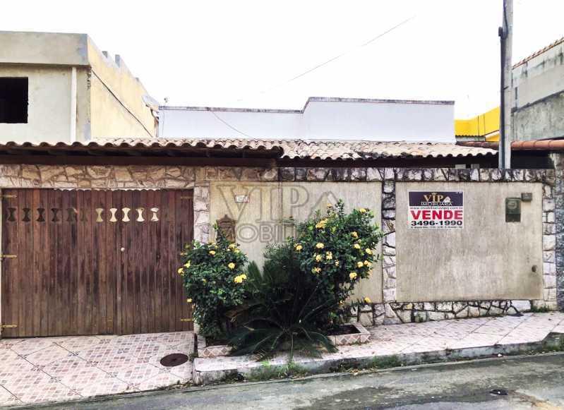 CAPA 01 - Casa em Condomínio à venda Estrada Santa Maria,Campo Grande, Rio de Janeiro - R$ 260.000 - CGCN20245 - 1