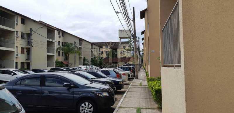 01 1. - Apartamento à venda Rua Moranga,Inhoaíba, Zona Oeste,Rio de Janeiro - R$ 135.000 - CGAP21014 - 3