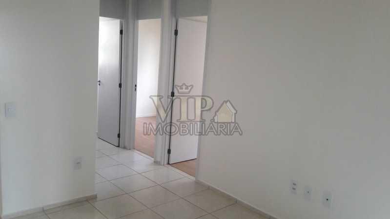 01 2 - Apartamento para alugar Estrada do Mendanha,Campo Grande, Rio de Janeiro - R$ 1.065 - CGAP21019 - 5