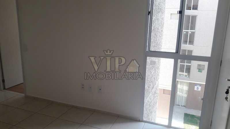01 3 - Apartamento para alugar Estrada do Mendanha,Campo Grande, Rio de Janeiro - R$ 1.065 - CGAP21019 - 4