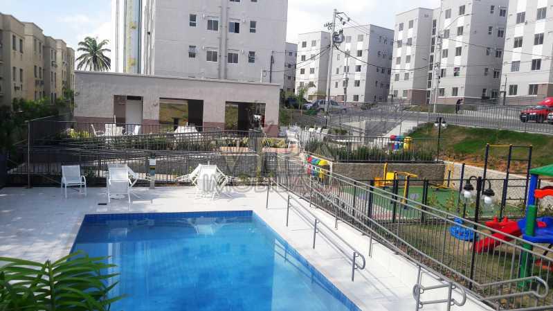01 17 - Apartamento para alugar Estrada do Mendanha,Campo Grande, Rio de Janeiro - R$ 1.065 - CGAP21019 - 18
