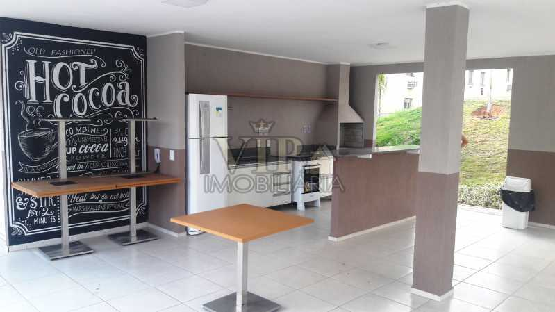 01 21 - Apartamento para alugar Estrada do Mendanha,Campo Grande, Rio de Janeiro - R$ 1.065 - CGAP21019 - 22