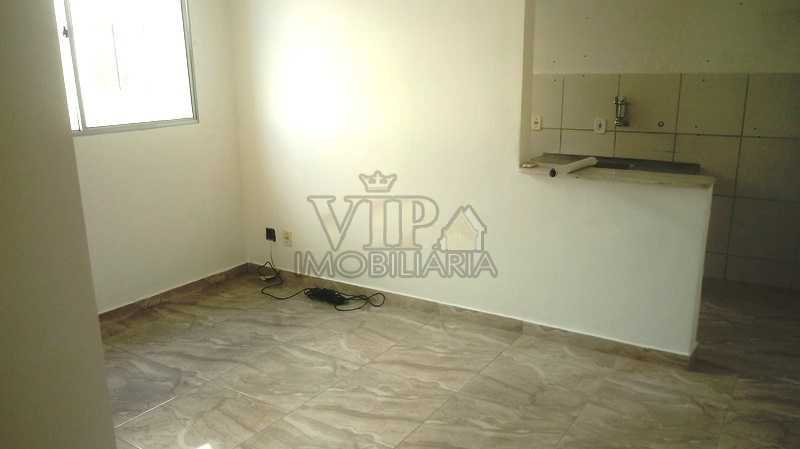 01 1 - Apartamento para alugar Estrada Professor Daltro Santos,Campo Grande, Rio de Janeiro - R$ 800 - CGAP21021 - 3
