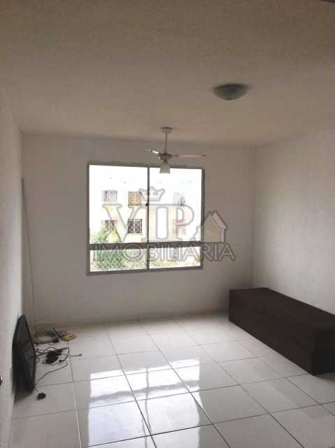 01 1. - Apartamento à venda Avenida Cesário de Melo,Cosmos, Rio de Janeiro - R$ 130.000 - CGAP21022 - 1