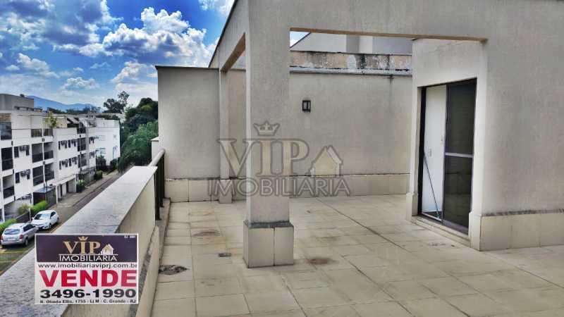 VIP. - Cobertura à venda Estrada da Cachamorra,Campo Grande, Rio de Janeiro - R$ 390.000 - CGCO20012 - 1