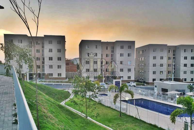 WhatsApp Image 2021-09-08 at 1 - Apartamento para alugar Estrada da Cachamorra,Campo Grande, Rio de Janeiro - R$ 800 - CGAP21036 - 1