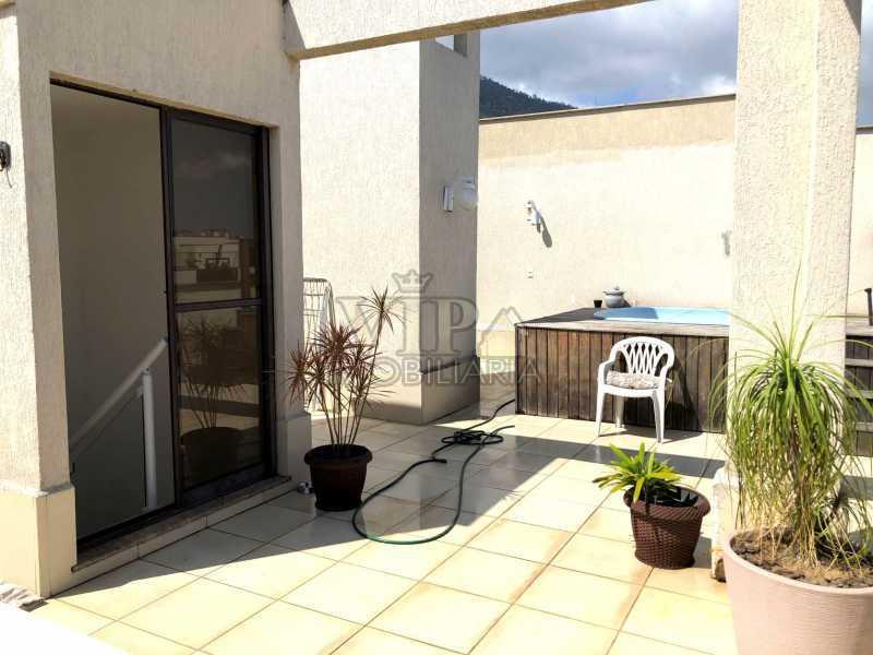 IMG-4081 - Cobertura à venda Estrada da Cachamorra,Campo Grande, Rio de Janeiro - R$ 390.000 - CGCO20013 - 3