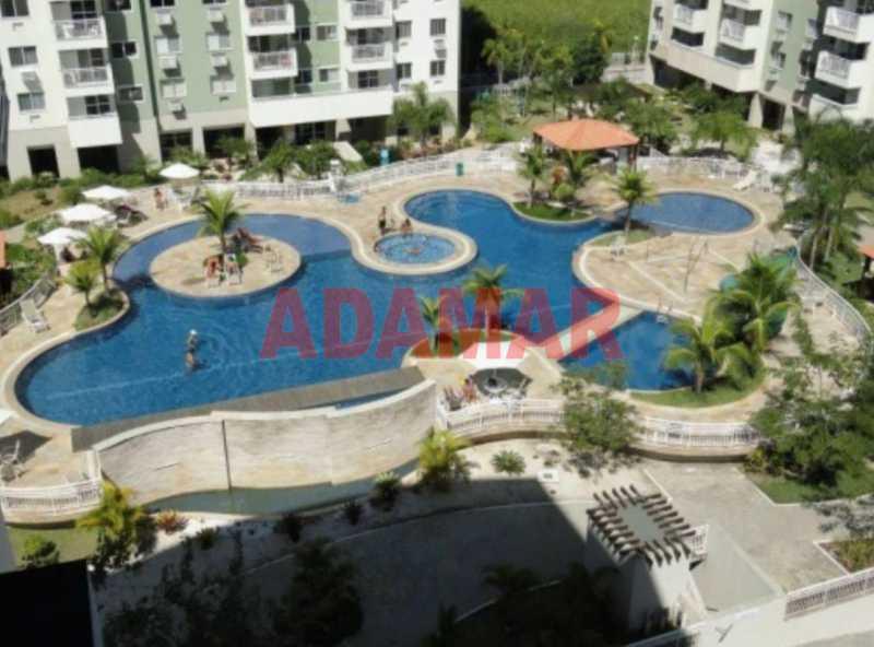 AREA DE LAZER PISCINA - Apartamento À VENDA, Barra da Tijuca, Rio de Janeiro, RJ - ADAP20100 - 18