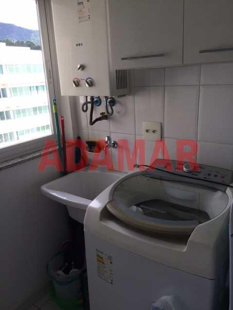 Area de Serviço 1 - Apartamento À VENDA, Barra da Tijuca, Rio de Janeiro, RJ - ADAP20100 - 9