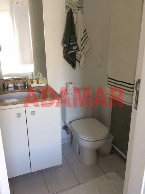 Banheiro suite 2 - Apartamento À VENDA, Barra da Tijuca, Rio de Janeiro, RJ - ADAP20100 - 14