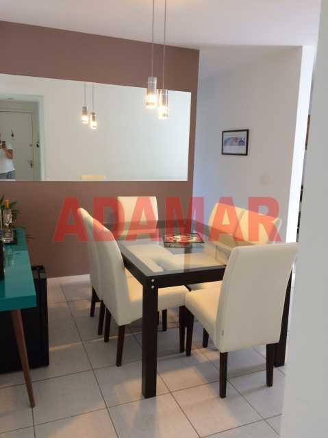Sala de Jantar 2 - Apartamento À VENDA, Barra da Tijuca, Rio de Janeiro, RJ - ADAP20100 - 7