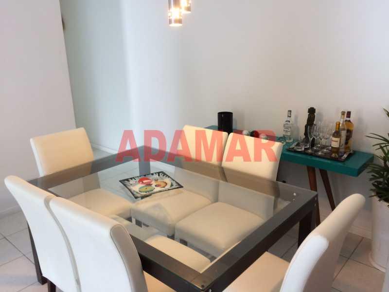 Sala de Jantar - Apartamento À VENDA, Barra da Tijuca, Rio de Janeiro, RJ - ADAP20100 - 3