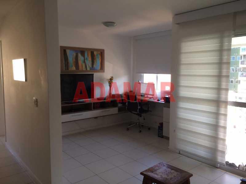 SALA E QUARTO ABERTOS - - Apartamento À VENDA, Barra da Tijuca, Rio de Janeiro, RJ - ADAP20100 - 6