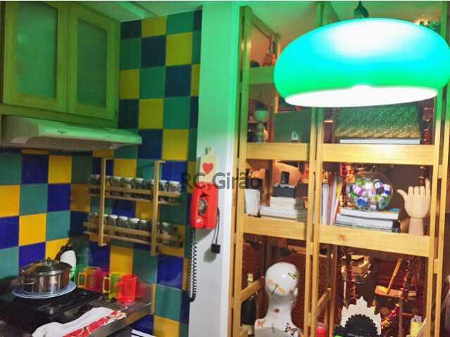 8 - Apartamento Rua Carlos Gois,Leblon, Rio de Janeiro, RJ À Venda, 1 Quarto, 40m² - GIAP10146 - 9