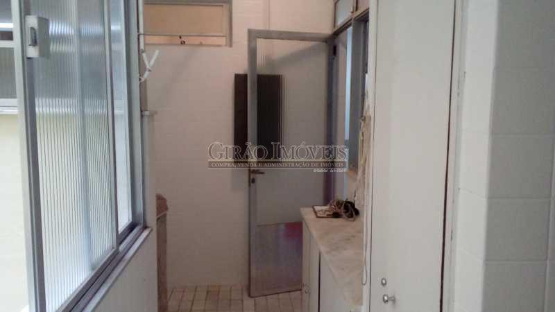 19 área de serviço - Apartamento à venda Rua Paula Freitas,Copacabana, Rio de Janeiro - R$ 1.900.000 - GIAP30347 - 22