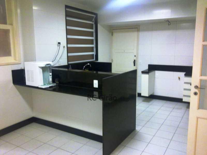 6  Cozinha - Apartamento Para Alugar - Copacabana - Rio de Janeiro - RJ - GIAP40114 - 14