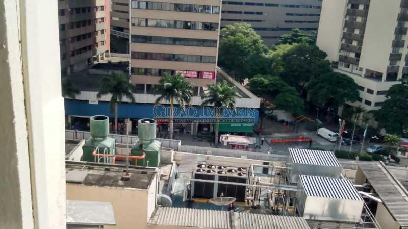 7 vista quarto - Cobertura à venda Rua Santo Afonso,Tijuca, Rio de Janeiro - R$ 750.000 - GICO30049 - 8
