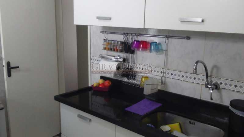 16 cozinha 2 - Cobertura à venda Rua Santo Afonso,Tijuca, Rio de Janeiro - R$ 750.000 - GICO30049 - 17