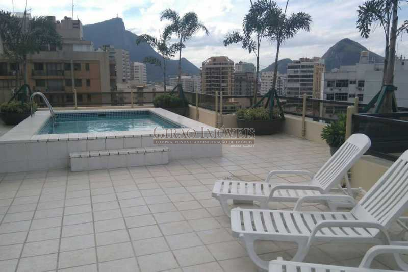 11 - Flat à venda Rua Dias Ferreira,Leblon, Rio de Janeiro - R$ 1.290.000 - GIFL10030 - 12
