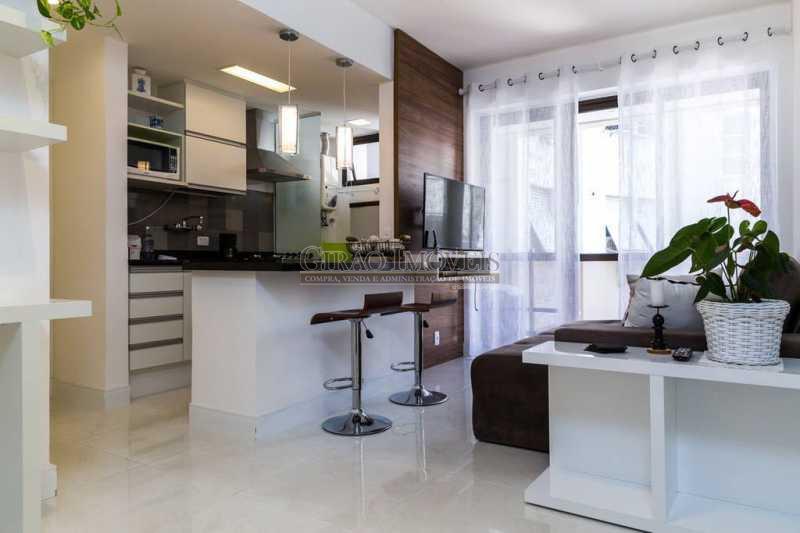 2 - Flat à venda Rua Dias Ferreira,Leblon, Rio de Janeiro - R$ 1.290.000 - GIFL10030 - 14