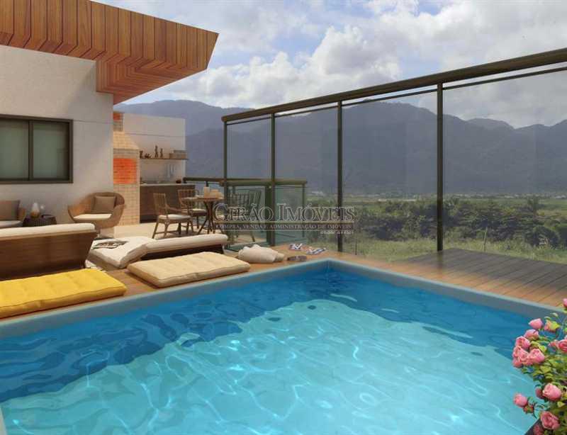 2 Piscina cobertura - Apartamento À Venda - Recreio dos Bandeirantes - Rio de Janeiro - RJ - GIAP20527 - 4