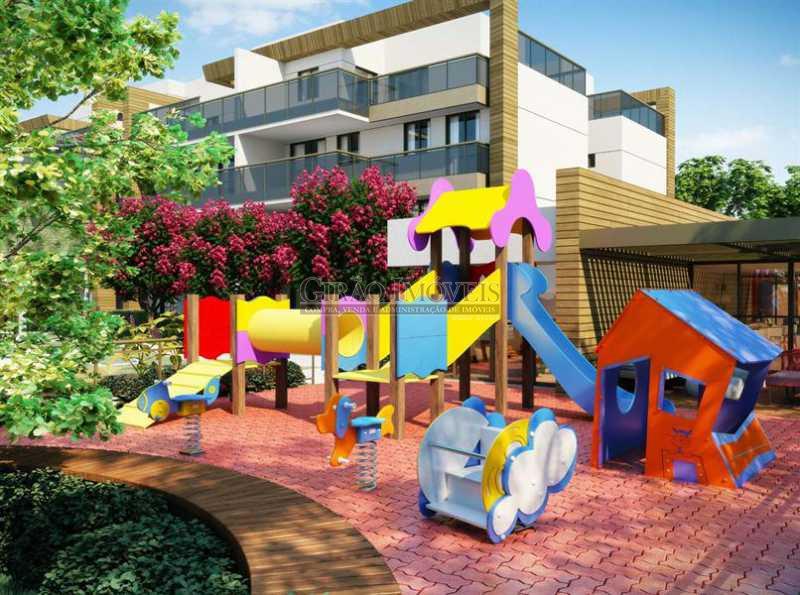 8 Playground - Apartamento À Venda - Recreio dos Bandeirantes - Rio de Janeiro - RJ - GIAP20527 - 10