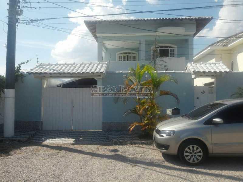 1 PARTE DA FRENTE - Casa em Condominio À Venda - Vargem Pequena - Rio de Janeiro - RJ - GICN50001 - 1