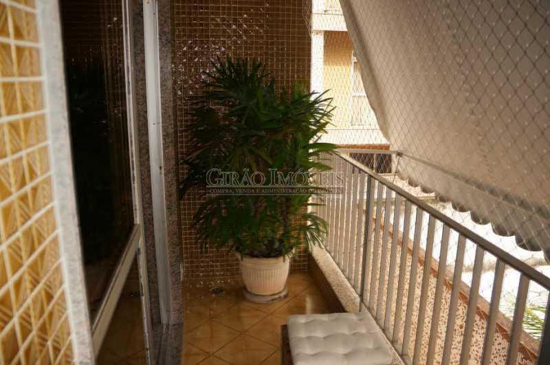 04 VARANDA - Apartamento À Venda - Tijuca - Rio de Janeiro - RJ - GIAP40144 - 5