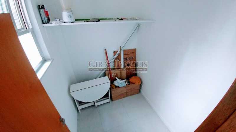 DEPENDÊNCIA - Apartamento À Venda - Copacabana - Rio de Janeiro - RJ - GIAP30632 - 19