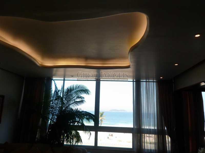 8 - Apartamento à venda Avenida Vieira Souto,Ipanema, Rio de Janeiro - R$ 6.500.000 - GIAP30636 - 9