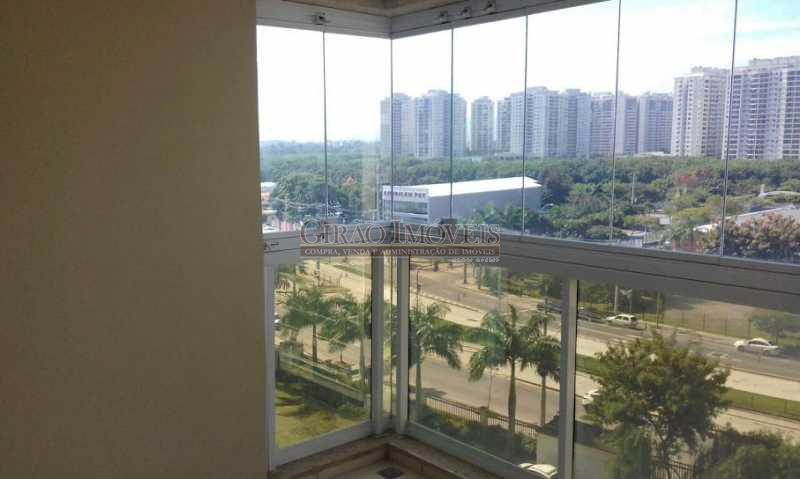 1 - Apartamento à venda Avenida Jaime Poggi,Jacarepaguá, Rio de Janeiro - R$ 450.000 - GIAP30657 - 3