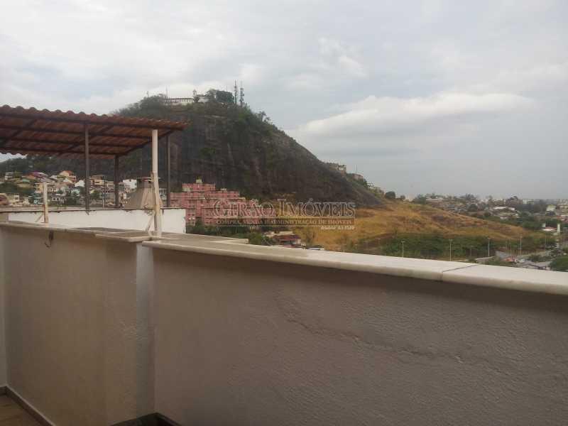 14 - Cobertura à venda Avenida Geremário Dantas,Freguesia (Jacarepaguá), Rio de Janeiro - R$ 590.000 - GICO30061 - 16