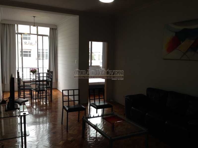 1 - apaixonadamente Ipanema, 2 quartos, perto do metro, trecho nobre, portaria 24 hs, garagem proxima, condominio barato, desocupado, pronto para morar, mobiliado - GIAP20637 - 1