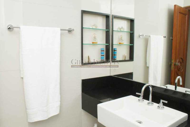 5.BanheiroSocial 8 - Apartamento À Venda - Copacabana - Rio de Janeiro - RJ - GIAP30766 - 12