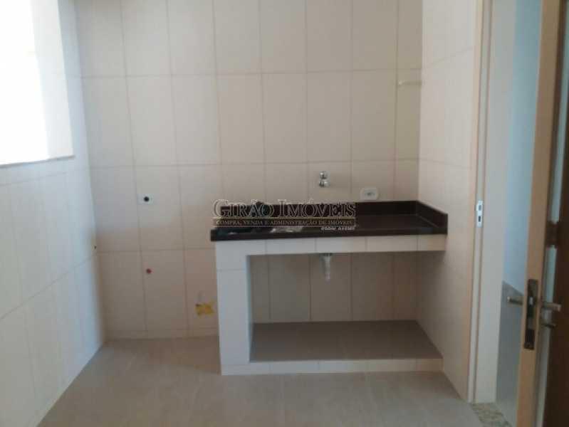 COZINHA - Oportunidade.3 Qtos um suite, dependência e vaga em Icaraí junto ao Campo São Bento - GIAP30786 - 17