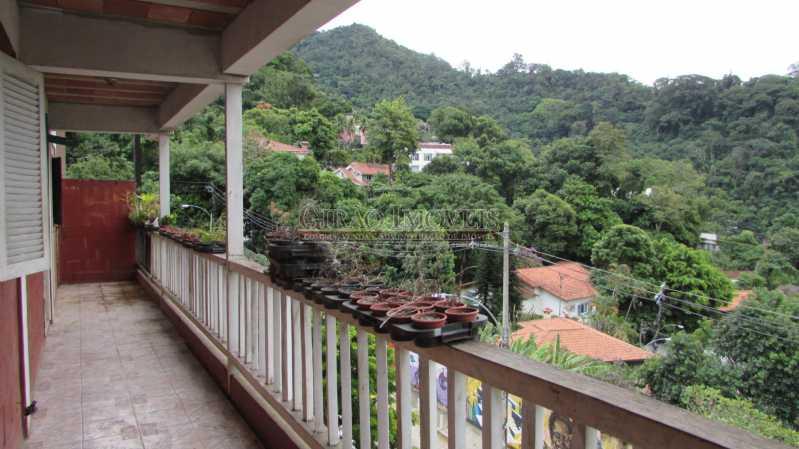 8 - Casa à venda Rua Conselheiro Lampreia,Cosme Velho, Rio de Janeiro - R$ 789.000 - GICA30008 - 9
