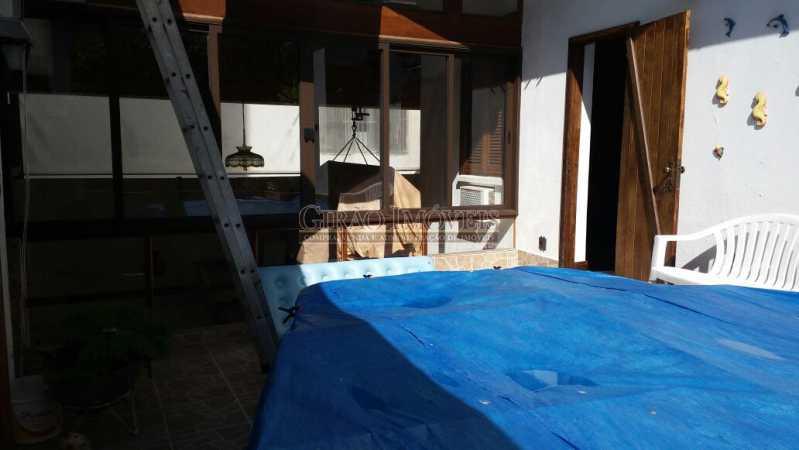 20 - Casa à venda Rua Guimarães Natal,Copacabana, Rio de Janeiro - R$ 6.000.000 - GICA60002 - 21