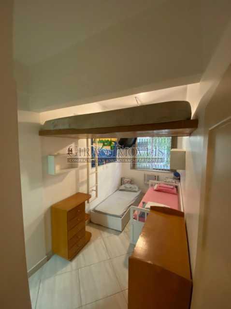 Quarto 2 - Apartamento à venda Rua Francisco Otaviano,Ipanema, Rio de Janeiro - R$ 1.210.000 - GIAP20708 - 16
