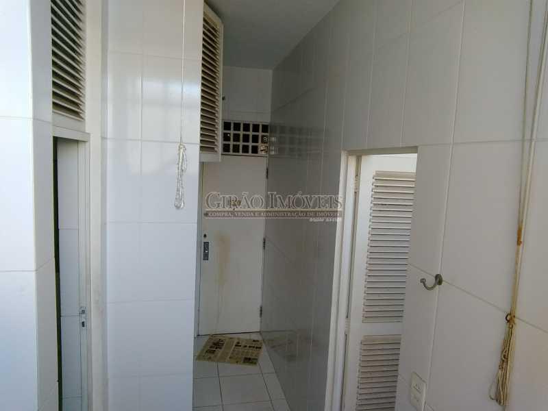 15Área de Serv e Depend - Apartamento À Venda - Ipanema - Rio de Janeiro - RJ - GIAP30828 - 17