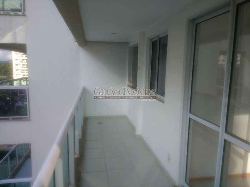 1a Varanda - Apartamento À Venda - Recreio dos Bandeirantes - Rio de Janeiro - RJ - GIAP40180 - 5