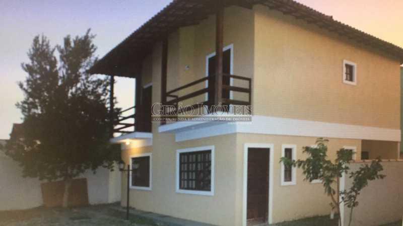 1 - Casa em Condomínio à venda Rua Rio de Janeiro,Extensão do Bosque, Rio das Ostras - R$ 300.000 - GICN20002 - 1
